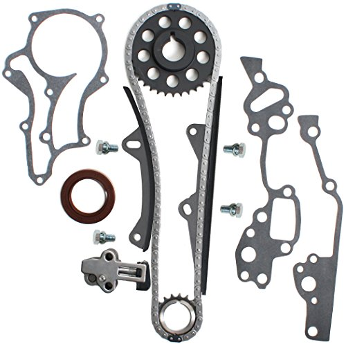 NEW TK-10120SI Timing Chain Kit (2 Heavy Duty Metal Guide Rails) / 85-95 Toyota 2.4L 4Runner Pickup Celica 4-Cylinder Engine 22RE 22REC 22RTEC (Timing Chain Toyota Celica compare prices)