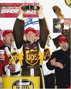 Dale Jarrett Signed Picture - RACING 8X10 W COA - Autographed NASCAR Photos by Sports Memorabilia