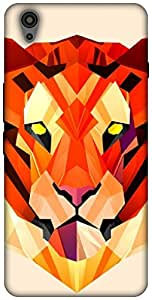 The Racoon Grip printed designer hard back mobile phone case cover for Oneplus X. (Pastel Tig)