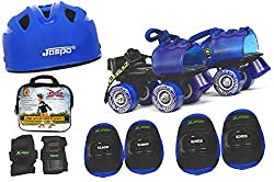 Jaspo Kids Delite Pro junior Skates Combo (skates+helmet+knee+elbow+wrist+bag)suitable for age upto 5 years