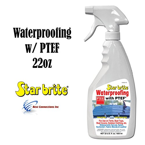 Waterproofing With PTEF 22oz Marine Fabric Cleaning Supply Star Brite 81922 (Convertible Top Waterproofing compare prices)