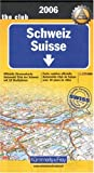 img - for Switzerland: With Town Plans (International Road Map) (German Edition) book / textbook / text book