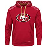San Francisco 49ers Armor Majestic Thermabase Pullover Hooded Sweatshirt XX-Large