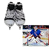 Cam Talbot Skates - New York Rangers Game Used #33 Skate Pair (No Blades)