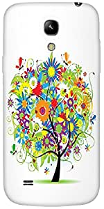 Timpax Protective Hard Back Case Cover Printed Design : A beautiful tree.Exclusively Design For : Samsung I9190 Galaxy S4 mini