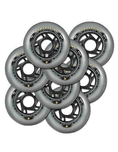 POWERSLIDE Rollen VI 80 mm 83 A Inliner Wheels 8 Stück