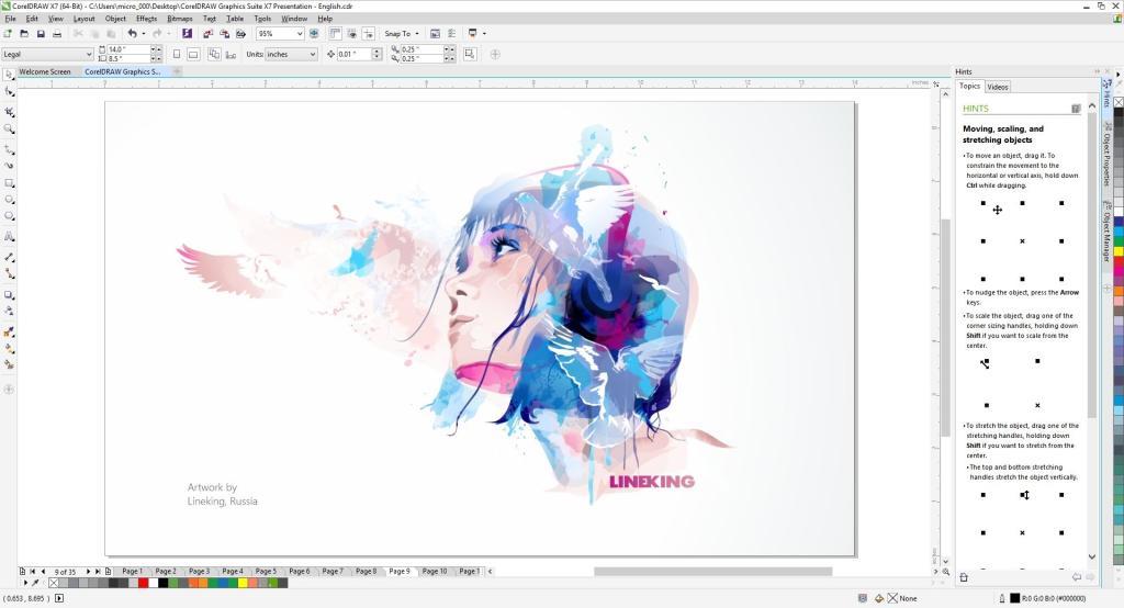 Coreldraw Graphics Suite X7 Full Version Ebay