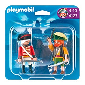 Playmobil  4127 - Duo Pack Pirata e Soldato