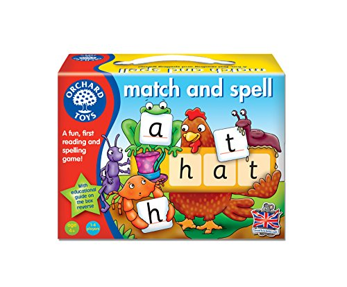 Orchard Toys Match and Spell Board Game by Orchard Toys