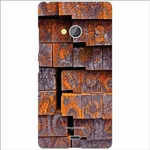 Design Worlds Back Case Cover For Microsoft Lumia 540 Dual SIM