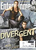 Entertainment Weekly March 7, 2014 Shailene Woodley and Theo James All Eyes on Divergent