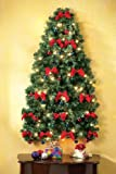 Collections Etc - Lighted Christmas Wall Tree
