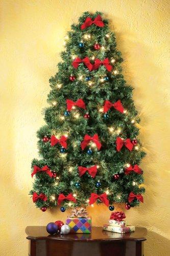 Lighted Christmas Wall Tree