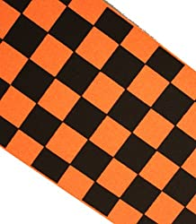 Scooter Grip Tape Orange Checkers