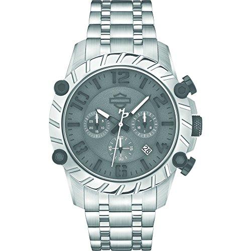 montre chronographe Harley Davidson pour homme 78B133 style décontracté cod. 78B133