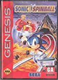 echange, troc Sonic The Hedgehog Spinball (Version Genesis & Etiquette abîmée)
