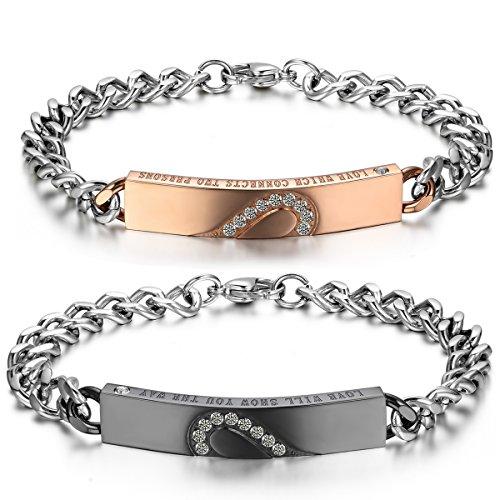 JewelryWe Bijoux Bracelet Homme