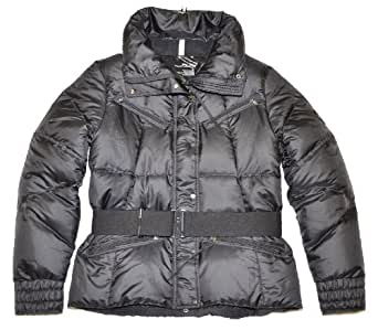 RLX by Ralph Lauren Women Belted Down Jacket (S, Black)