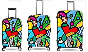 Heys Romero Britto Butterfly Love 3pc Set (22