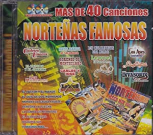 Famosas - Nortenisimas Mix Y Nortenisimas Tequileras 2 Cd's - Amazon