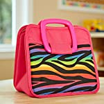 Bella Kids' Chiller Lunch Bag (Rainbow Zebra)