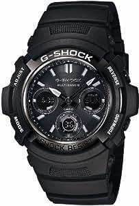 [カシオ]CASIO 腕時計 G-SHOCK ジーショック Garish Black ガリッシュブラック タフソーラー 電波時計 AWG-M100BW-1AJF メンズ
