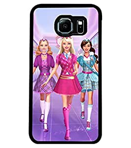 ColourCraft Beautiful Dolls Design Back Case Cover for SAMSUNG GALAXY S6 EDGE