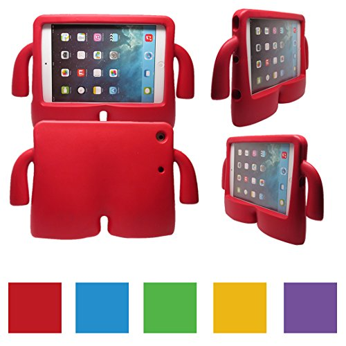 iPad Mini/iPad Mini 4 Case For Baby (RED) Thick lightweight foam, free standing,  Stain resistant, available in other colors