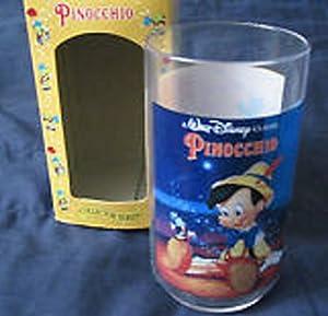 BURGER KING 1994 COLLECTOR GLASS, PINOCCHIO