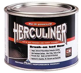 Herculiner HCL0B7-01 Brush-on Bed Liner Quart