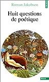 echange, troc Roman Jakobson - Huit questions de poétique