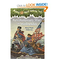 Magic Tree House #22: Revolutionary War on Wednesday (A Stepping Stone Book(TM)) by Mary Pope Osborne and Sal Murdocca