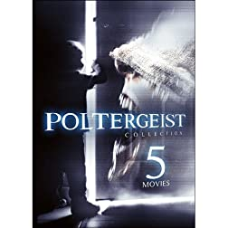 5-Movie Poltergeist Collection: Closets / Haunting Sarah / The House That Would Not Die / Evidence of a Haunting...