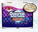 Quilted Northern Ultra Plush Toilet Paper - Bathroom Tissue, 3 PLY, 30 Jumbo Rolls (Equals 80 Regular Rolls)