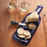 Cobalt Blue Bottle Serving Platter