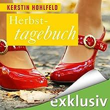 Herbsttagebuch (Rosa Redlich 2) Hörbuch von Kerstin Hohlfeld Gesprochen von: Elke Appelt