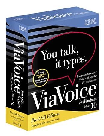 Viavoice for Windows Pro Usb Edition 10.0