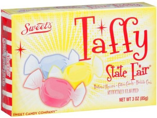 Sweets - Salt Water Taffy - State Fair Taffy