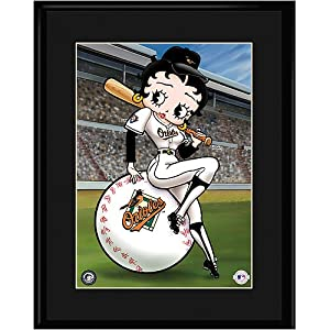 Baltimore Orioles MLB Betty On Deck Collectible by Toon Art