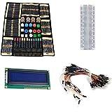 Wallzkey Électronique Fans Kit Package de Composant Pour Les Cours Arduino Starter WK-02...
