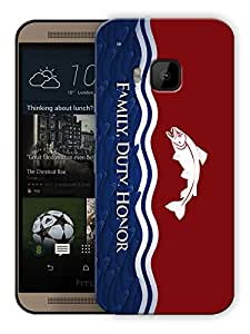 "Humor Gang Family Duty Honour Motivational Printed Designer Mobile Back Cover For ""HTC ONE M9"" (3D, Matte, Premium Quality Snap On Case)"
