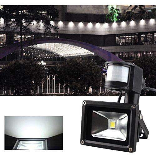 test maclean mce138 infrarot led deckenleuchte mit bewegungsmelder 10w deckenlampe lampe g nstig. Black Bedroom Furniture Sets. Home Design Ideas