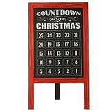 Standing Chalkboard Easel Advent Calendar