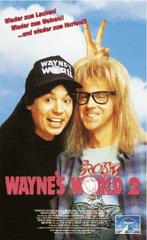 Wayne's World 2 [VHS]