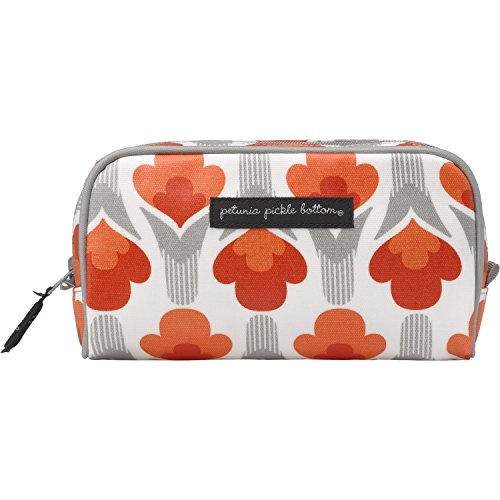 Petunia Pickle Bottom Powder Room Case in Brittany Blooms, Red/Orange (Petunia Pickle Powder compare prices)