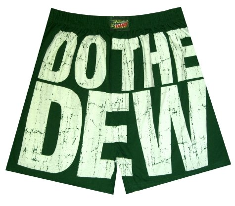Mountain Dew - Do The Dew boxer shorts for men - Buy Mountain Dew - Do The Dew boxer shorts for men - Purchase Mountain Dew - Do The Dew boxer shorts for men (WebUndies, WebUndies Mens Underwear, WebUndies Underwear, Apparel, Departments, Men, Underwear, Mens Underwear, Boxers, Mens Boxers)