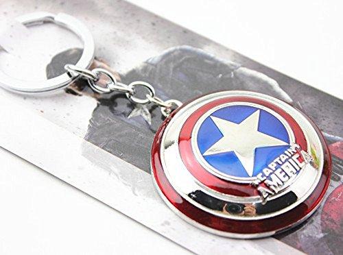 Anime Avengers Modello, Capitan America portachiavi, ciondoli