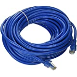 CAT 6 Ethernet Patch Cord RJ45 LAN Network Cable In 50 Mtr Length - Blue