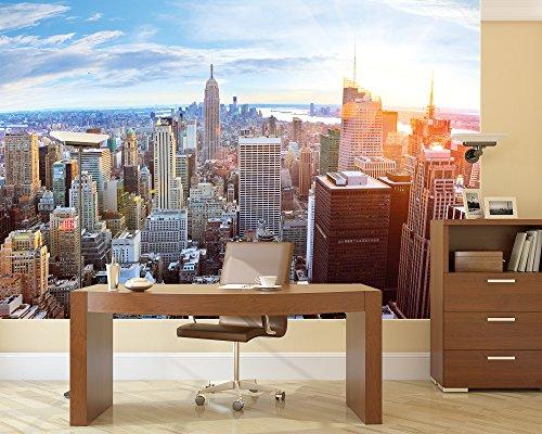 Galleon new york penthouse skyline photo wallpaper for Poster mural xxl
