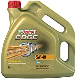 Castrol 1535F3 Edge 5W-40 Engine Oil, 4 Liter